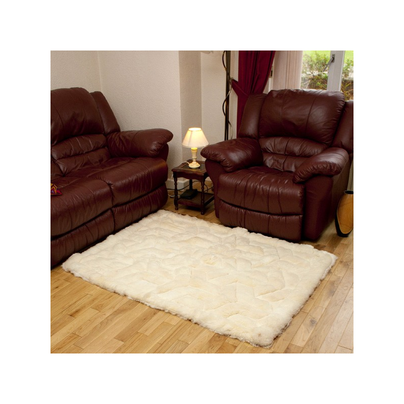 Big Baby Alpaca Fur Rug