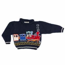 Children's Wangu Cha - Train Jumper