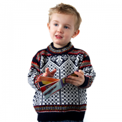 Children's Blue Pampa Jumper