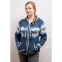 Ladies Inca Fleeced Hood Jacket