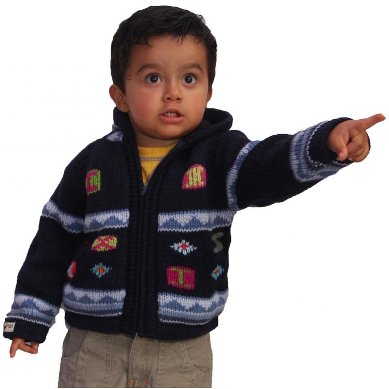 Children S: Children's Calendar Fleeced Jumper