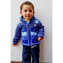 Children's Fleece Lined Jacket Denim