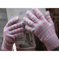 Stripy Gloves
