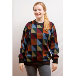 Ladies Intarsia Jumper