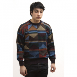 Mountains Intarsia Jumper