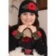 Freda Hat & Accessory Set