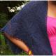 Tania lace shawl