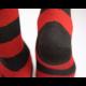 Ladies Stripy Alpaca Socks