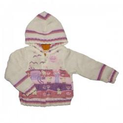 Lined Hoodie Jacket Pink