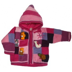Fleece Lined Jacket Pink