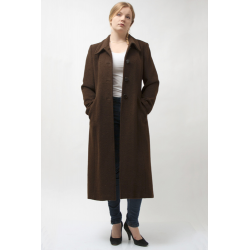 Ladies Long Alpaca Wool Coat