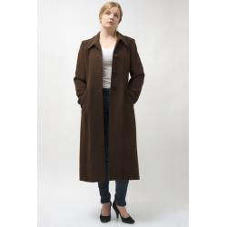 Ladies Long Alpaca Wool Coat