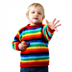 Children's Arco Iris Jumper