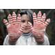 Alpaca Hand-Dyed Fingerless Gloves