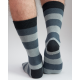 Mens Stripy Alpaca Socks