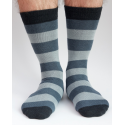Men Stripy Alpaca Socks