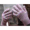 Alpaca hand dyed Gloves