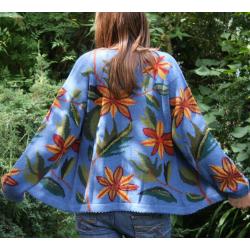 Intarsia Flora Jacket