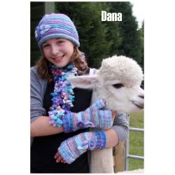 Dana Hat, Scarf & Mittens