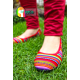 Ladies shoes in  textile Weave