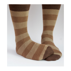 Stripy Alpaca Socks