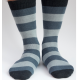 Ladies Stripy Alpaca Socks