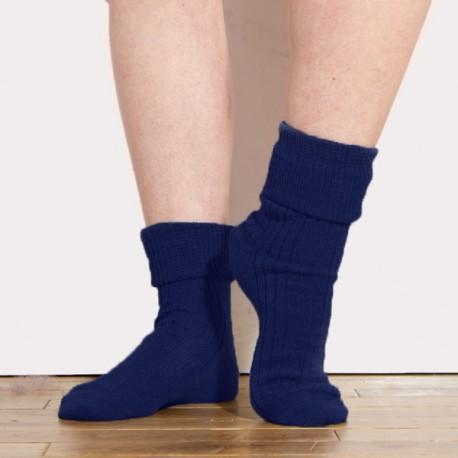 Ladies Cubana Folding Alpaca Socks