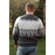 Mens Peru Jumper Grey