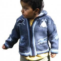 Children's Alpaca Design Jacket