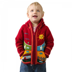 Children Jacket Red