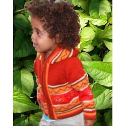 Children's Ecuadorian Jacket Blue