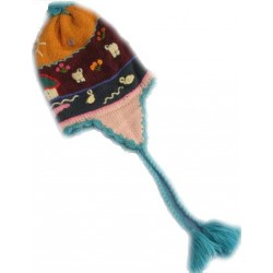 Applique Alpaca  Hat