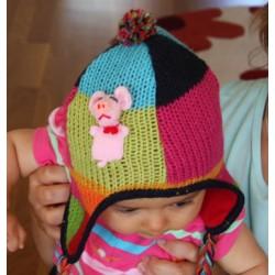 Children's Puppet Alpaca Hat
