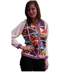 Pure 100% Cotton Intarsia Jackets