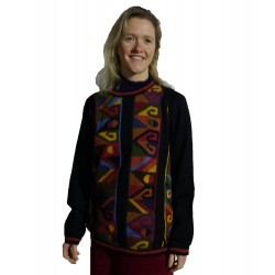 Ladies Intarsia Tapiz Alpaca Jumper
