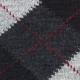 Intarsia Charcoal Alpaca Socks