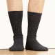 Casual Alpaca Black Socks